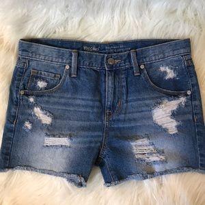 Mossimo midi boyfriend cut shorts 25